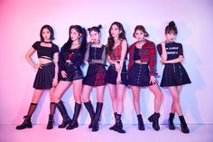 """FANATICS have released another set of teaser photos ahead of their comeback release """"VAVI GIRL"""".The group surprised fans with new girl-cr… Kpop Fashion Outfits, Stage Outfits, Girl Outfits, Kpop Mode, Combat Boot Outfits, Krystal Jung, Fandom, Themed Outfits, New Girl"""