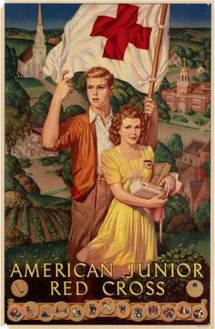 American Junior Red Cross. WWII poster, 1943 : UNT Digital Library