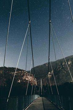 #nightphotography #nightscape #bridge #night #star #photography #canon #eos #switzerland  @shadelove Star Photography, Night Photography, Canon Eos, Switzerland, Bridge, Instagram, Bridges, Attic, Bro