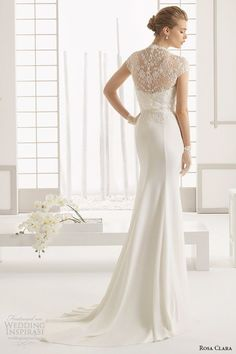 lace backs are a must for this years wedding season