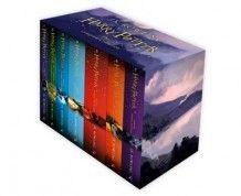 Harry Potter boxed set av J.K. Rowling (Heftet) - Ungdomsbøker   Tanum nettbokhandel
