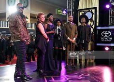 Recording artist R. Kelly, Chairwoman and CEO of BET Networks Debra. Tichina Arnold, Train Music, Soul Train, Music Awards, Nevada, Roman, Las Vegas, November, Celebs