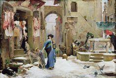 File:Luc-Olivier Merson - Le Loup d'Aggubio