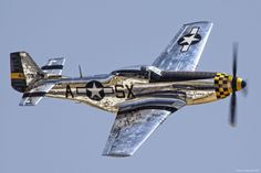 P-51 Mustang...most gorgeous airplane ever