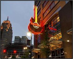 The Hard Rock Cafe Detroit opened November 10, 2003 in the heart of downtown Detroit. And while the Cafe exhibits pride in Detroit's rich musical history, (from Motown to Rock and Roll), local is the name of the game at Hard Rock Cafe Detroit. In addition to great food, music and drinks, you'll find memorabilia representing The Temptations, Marvin Gaye, Michael Jackson, Diana Ross, Eminem, Jimi Hendrix, Ted Nugent, Grand Funk Railroad and Kid Rock- to name a few!