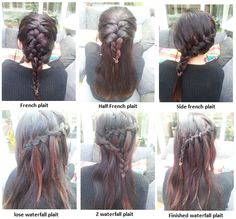French plaits....cute.