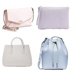 Transition your look into spring with these pretty pastel bags.