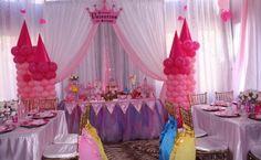 Resultado de imagen para princess theme party decoration ideas