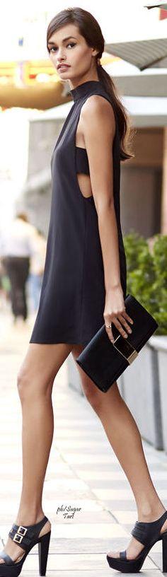 Yasemin Aksu...Timeless style....classic black ♥