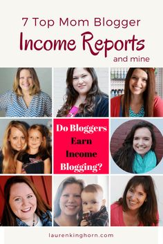 Do Bloggers Earn Income Blogging? Absolutely! But it takes a while. Here are 7 Top Blogger Income Reports and my first one.