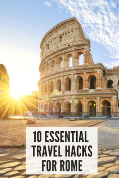 Michele is sharing her top travel tips and travel hacks for Rome. She's shared lots of simple insider travel tips to make your trip to Rome easier. These Rome travel tips will save you time and money…MoreMore #TravelTips