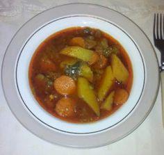 Mancare de cartofi cu ciuperci si capere, de post Chana Masala, Ethnic Recipes, Food, Meal, Essen, Hoods, Meals, Eten