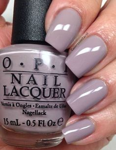 Trending mauve shade. #beautynails