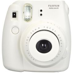 Fujifilm Instax Mini 8 Instant Camera (White) (€71) ❤ liked on Polyvore featuring fillers, camera, electronics, accessories and fillers - white