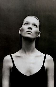 Kate Moss by Patrick Demarchelier -repinned from Orange County studio photographer http://LinneaLenkus.com #portraitphotography