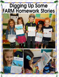 FARM Homework Phonics, Homework, Literacy, Kindergarten, The Incredibles, Fun, Kindergartens, Preschool, Preschools