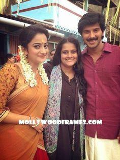 "Mollywood Frames. | Malayalam cinema | Malayalam films: DQ, Namitha and Unni in ""Vikramadithyan"""