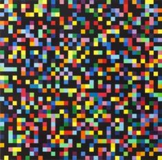 Ellsworth Kelly - Spectrum Colors Arranged by Chance, 1951-1953