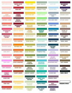 stampin up retired color comparisons - Google Search