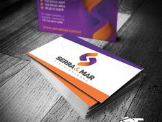 Cartão de Visita - Serra & Mar Distribuidora - FIRE MÍDIA http://firemidia.com.br/criacao-de-sites-em-santos/