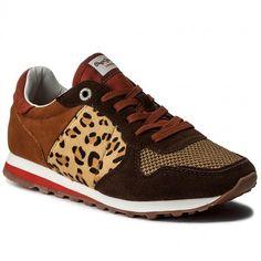 Sneakersy PEPE JEANS - Verona Wleo PLS30540 Dk Moka 887