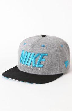 Nike Melee Heather Snapback Hat Flat Hats 172d30f5d10