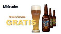 Ven acompáñanos en nuestro Miércoles de Pecado, cada 3 Cerveza GRATIS ! Calle 50 #68-48 #CervezArtesana