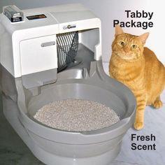 CatGenie 120 Self Cleaning Litter Box - Tabby Package #CatGenie
