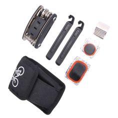 Bicycle Repair Tools 16 in 1 Multi-function Tool Hex Spoke Cycling Screwdriver MTB Tire Repair Bag Hot Sale  EA14