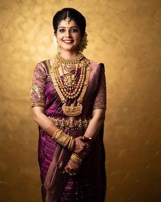 Ideas south indian bridal wear beautiful for 2019 Kerala Wedding Saree, Indian Bridal Sarees, Kerala Bride, Bridal Silk Saree, Hindu Bride, Indian Bridal Fashion, Indian Bridal Wear, South Indian Bride, Saree Wedding