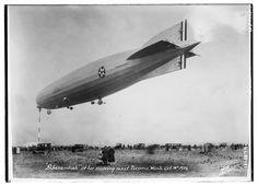SHENANDOAH at her mooring mast Tacoma, Wash. Oct. 19th, 1921