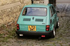 This 1993 Polski Fiat now resides in Ramsgate, Kent with its owner Dan Marren (Who also owns a rather nice Mini Mary Quant). Fiat 500, Fiat Cinquecento, New Look Inspire, Most Popular Cars, Family Chiropractic, City Car, Old Cars, Cars And Motorcycles, Vintage Cars