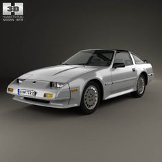 Nissan 300ZX (Z31) Turbo 1983 3d model from humster3d.com. Price: $75