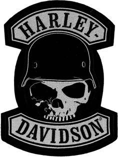 Harley-Davidson Patches / Emblem  Pointe  Petit, Faible *Em786062*