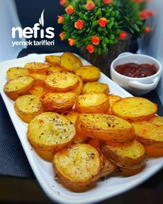Baked Potato, Sweet Potato, Snack Bar, Ham, Side Dishes, Brunch, Food And Drink, Snacks, Chicken