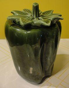 McCoy Green Pepper cookie jars