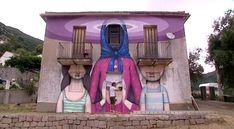 Le Street Art s'empare des murs abandonnés de Balogna en Corse