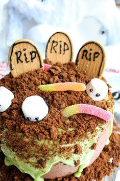 Easy Halloween Woolworths Mud Cake Hack