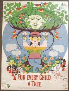 For every child a tree - Bjørn Wiinblad
