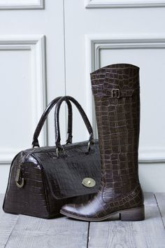 Coco boots & bag