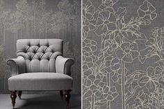 #interior #design #inspiration {via kirkby design}Textiles by Mark Alexander | De Sousa Hughes