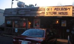 Best steak ever, a small hole in the wall but so awsome!!  Old Hickory Steak House  1301 U.S. 45 Columbus, MS 39705‎