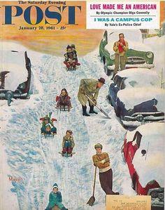 The Saturday Evening Post  January 28 1961 Mayan Olga Connolly Americana