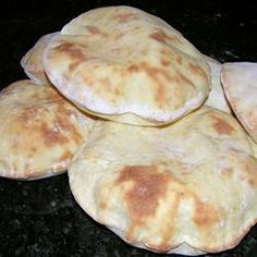 Pita Bread (using a bread  maker)