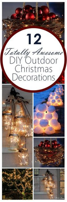 12-totally-awesome-diy-outdoor-christmas-decorations