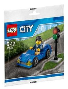 LEGO City 30349 Blue Sports Car & Figure Set New/Sealed!! 47pcs!! Ages 5+  #LEGO