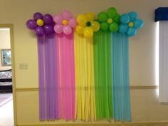Cheap Background streamers and balloons - Balloon Decorations 🎈 Girl Birthday Decorations, Birthday Balloon Decorations, School Decorations, Baby Shower Decorations, Streamer Decorations, Shower Centerpieces, Rainbow Birthday Party, Unicorn Birthday Parties, Birthday Party Themes