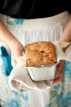 Strawberry bread: http://www.stylemepretty.com/living/2015/04/24/fresh-picked-strawberry-bread-with-balsamic-strawberry-butter/ | Photography: Libbie Summers - http://www.libbiesummers.com/
