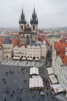 Old Town Square, Prague, Czech Republic. #Prague  Photos copyright: Tarryn Liddell Photography  http://tarrynliddell.blogspot.com/#