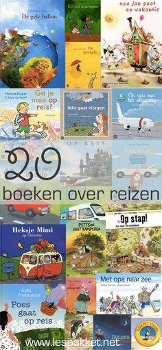 20 boeken over reizen - Lespakket